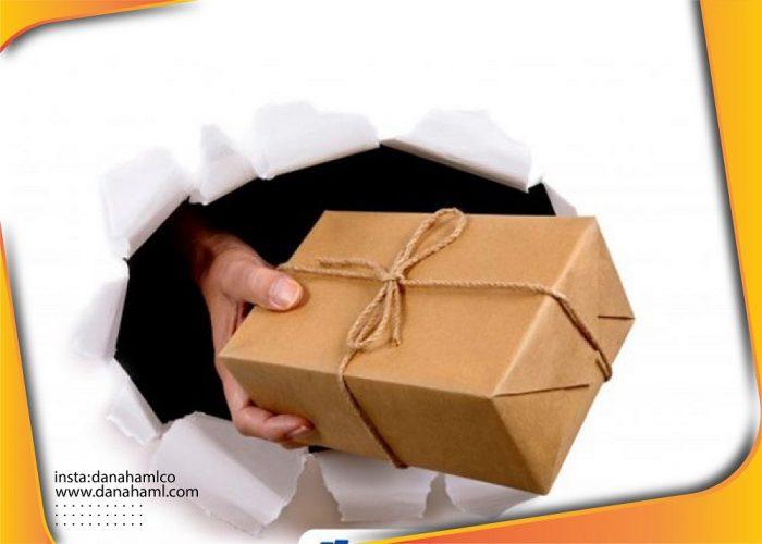 ارسال سریع بسته